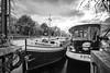 Port de Plaisance de l'Arsenal, Paris, Bastille, Bassin de l'Arsenal. France (Dima Vesnine) Tags: bracketing hdr bateau ship