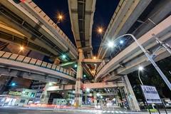 THE JUNCTION (mon_masa) Tags: junction tokyo japan nightphoto nightscape nightview night longexposure uwa ultrawideangle cityscape city