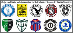 Macedonia, major & historical Macedonian Football Clubs, Greece (Macedonia Travel & News) Tags: macedonia ancient culture vergina sun football super league clubs republic nato eu fifa uefa un fiba aegeanmacedonia greecemacedonia macedonianstar verginasun aegeansea macedoniapeople macedonians peopleofmacedonia macedonianpeople signs thessaloniki mavrovo macedoniablog 7867827 macedoniagreece makedonia timeless macedonian macédoine mazedonien μακεδονια македонија travel prilep tetovo bitola kumanovo veles gostivar strumica stip struga negotino kavadarsi gevgelija skopje debar matka ohrid heraclea lyncestis