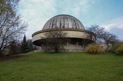 Silesian park 4, observatory (AstridWestvang) Tags: architecture building katowice planetarium poland