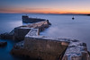 St Monans Twilight (roseysnapper) Tags: nikon d810 st monans harbour wall cloud sea sky sunset fife scotland zigzag landscape seascape outdoor