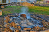 Embers (kendoman26) Tags: hdr hd nikhdrefexpro2 niksoftware nikon nikond7100 tokinaatx1228prodx tokina tokina1228 fire burn smoldering smoke autumn fall