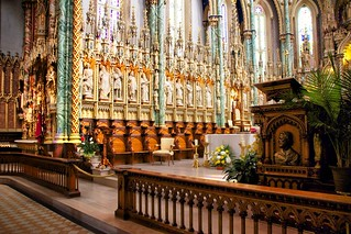 Ottawa Ontario ~ Canada ~ Notre-Dame Cathedral Basilica ~ National Historic Site of Canada - Pulpit