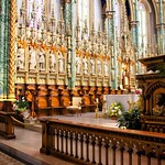 Ottawa Ontario ~ Canada ~ Notre-Dame Cathedral Basilica ~ National Historic Site of Canada - Pulpit thumbnail