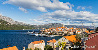 Colours of Korcula old town