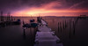 low light at carrasqueira (kaihornung-photography) Tags: longexposure jetty portugal sunset sunrise wood mood europe water ocean sea skyporn docks langzeitbelichtung boats marina vintage