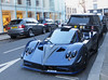 Pagani Zonda by Mileson (One-off) (p3cks57) Tags: pagani zonda by mileson oneoff cars car supercars worldcars hypercars carbon fiber blue limited edition
