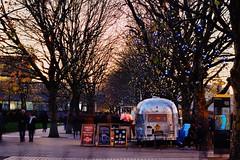 Street Food (ijclark) Tags: london streetfood southbank people cityscenes city riverthames tourists lights nightlights
