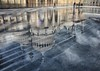 Royal icing (sussexscorpio) Tags: 2017 brighton brightonpavilion eastsussex november pavilion royalpavilion sussex sussexscorpio ice icerink reflection reflections clouds landscape canon canon80d lines people iceskaters skaters blue architecture building royal iconic princeregent palace