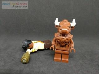 Lego Marvel Minotaur (Dario Agger) Minifig MOC DTB064