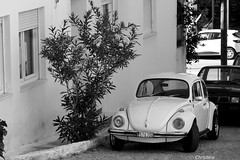 the charm of the old (christinehag) Tags: car voiture beetle