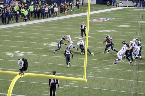 2017 Seahawks vs Colts game