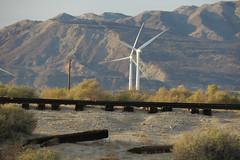 Ballast Optional (Arrowhead Fan) Tags: sdae pir pacific imperial railroad san diego eastern arizona baja california ca impossible wind turbine