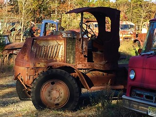 Abandoned antique truck photo by Neil Settle