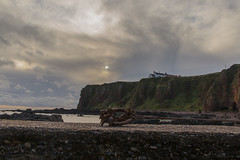 Cliff (jonathan.scaife81) Tags: cliff arbroath angus auchmithie house scotland canon 6d tamron 28300mm tamron28300 north light cloud