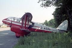 G-AGSH De Havilland DH.89A Dragon Rapide 6 (pslg05896) Tags: gagsh dehavilland dh89 dragonrapide boh eghh bournemouth hurn