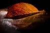 Portrait (Werner D.) Tags: autumn herbst leaf laub blatt dof unschärfe bokeh deptoffield color onesingleleaf