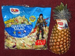 Dole - Star Wars Products (Darth Ray) Tags: dole star wars garden salad pineapple
