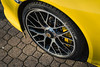 Porsche 911 Turbo S Cabrio wheel (lu_ro) Tags: porsche 911 turbo s cabrio wheel roadster yellow sony a7 50mm samyang italy springboks