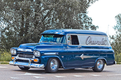 Chevrolet Apache 32 Panel Delivery 1959 (2557)