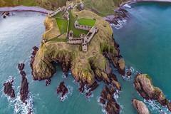 Dunnottar Castle (Steve Samosa Photography) Tags: castledunnottar dunnottar scotland stonehaven aerial aerialview dronecamera drone droneshot topdownview sea seaside seascape castle coast unitedkingdom gb