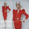 GIVEAWAY!!! (Culte De Paris) Tags: giveaway culte de paris julia leroy integrity toys 24k erin agnes red dress holidays fashionista handmade convention exclusive festive special occasion jewelry