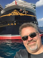 """Scott with the Disney Wonder • <a style=""""font-size:0.8em;"""" href=""""http://www.flickr.com/photos/28558260@N04/38954455462/"""" target=""""_blank"""">View on Flickr</a>"""