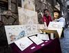 Napoli 16 (arsamie) Tags: napoli italia street artist painter paintings drawings art sell trade buy