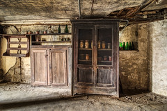 In the basement (ForgottenMelodies) Tags: france abandoned abandonné castle château decay derelict exploration forgotten k3 lost oublié pentax urbex forgottenmelodies nicolasauvinet