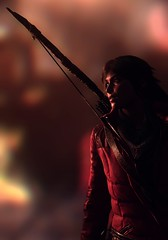 Burning Passion (Stachmo) Tags: burning passion rise tomb raider lara croft adventure reshade video game gaming screenshot digital art fire