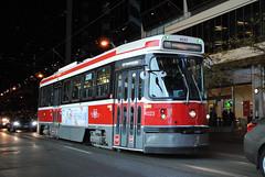 Toronto Transit Commission 4023 (apta_2050) Tags: torontotransitcommission ttc urbantransportationdevelopmentcorporation utdc hawkersiddeley canadianlightrailvehicle clrv streetcar tram publictransit yongedundassquare dundassquare toronto ontario