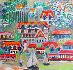FRENCH ESCAPISM & LIQUID PAINTING, by scott richard (the art of liquid painting) Tags: scott richard torbakhopper san francisco california city street photographer scottrichard sf scottrichardphotographer sfmet art artist painting painter liquidpainting liquid scottrichardpainter scottrichardartist scottrichardart scottrichardpainting frenchescapism french escapism dopaquelpeninsula dopaquel peninsula antipsychotic medz drugs fantasy peace idyll escape retreat preelectric world tourism leisure rest ideal village countryside clean air land water food people
