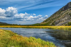Yellowstone River  -2978- (zayaspointofviewphotography1) Tags: nature yellowstone clouds volcano park national nationalpark usa beautiful mostsee wyoming