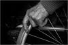 Once so strong (Marcel Kramer K5) Tags: marcelkramer pentax father blackandwhite hand wheelchair
