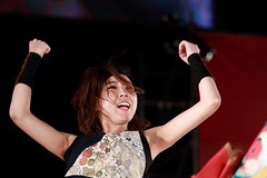 IMG_0345M 北海道よさこいチーム 北昴 2017臺中國際踩舞祭 (陳炯垣) Tags: performance stage dancer yosakoi よさこい