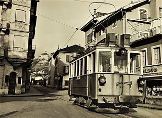 Trams Clarens Chailly Blonay (Suisse)