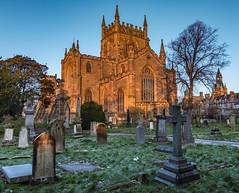 Dunfermline Abbey (jasty78) Tags: dunfermlineabbey robertthebruce kingrobert dunfermline abbey sunrise frost nikond7200 tokina1116mm