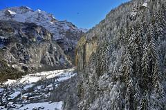 Lauterbrunnen and the Jungfrau mountain (4,158 m). Canton of Bern , Switzerland.15.11.17, 14:49:02 Izakigur . No, 1092. (Izakigur) Tags: switzerland tiff nikkor helvetia liberty izakigur flickr feel europe europa dieschweiz suiza suisse suisia schweiz svizzera lasuisse lepetitprince thelittleprince ilpiccoloprincipe nikon suizo swiss سويسرا laventuresuisse myswitzerland landscape alps alpes alpen schwyz suïssa nikond810 luz lumière light licht ضوء אור प्रकाश ライト lux światło свет ışık nikkor2470f28 berneroberland bern berne alpi