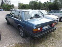 1985 Volvo 740 (Alpus) Tags: rare car volvo 740 swedish bulgaria sofia classic retro