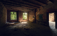 Fort (-SebsTian-) Tags: light shadow windows stone europe pld sony a58