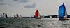 Il Vento ... The Wind (Marco_964) Tags: wind vento fiume river portogallo lisbona lisbon portugal sailboat sail sailing vela spinnaker colori colors barcaavela racing regata navigare pentax pentaxk50 pentaxiani reflex