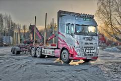 Enkvist II (johan.bergenstrahle) Tags: 2017 november fordon vehicle truck lastbil volvo vännäs enkvist hdr finepics sweden sverige