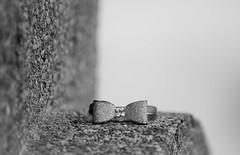 Forgotten bracelet (vinnie saxon) Tags: nikon nikoniste monochrome blackandwhite stone stilllife bokeh dof lost bracelet jewelry