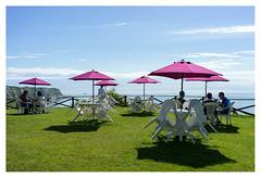 That holiday feel (leo.roos) Tags: folkestone littleswitzerland englishchannel hetkanaal parasol a7 sonyczfe3528 sel35f28z sonnar3528za sonycarlzeiss35mmf28zafesonnar walesspring2014 darosa leoroos