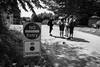 no entry (jellamalo) Tags: nature hike river adventure blakandwhite