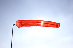 Windsock at Saltby