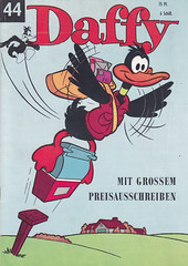 Daffy Nr. 44 (micky the pixel) Tags: comics comic heft humor funny vintage looneytunes warnerbrospictures walterlehningverlag daffy daffyduck briefkasten mailbox