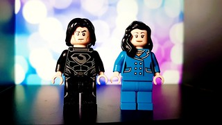 Superman Figs I Doomsday Superman and Lois Lane