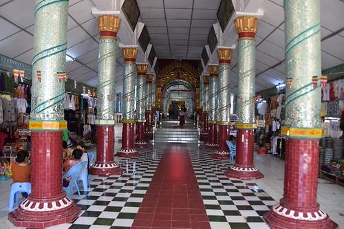 Kaungmudaw Pagoda  / Sagaing, Myanmar/