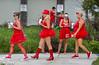Red Dress Run (MJfest) Tags: bourbonstreet dress frenchquarter louisiana neworleans nola rdr rdr2017 red reddressrun fav10